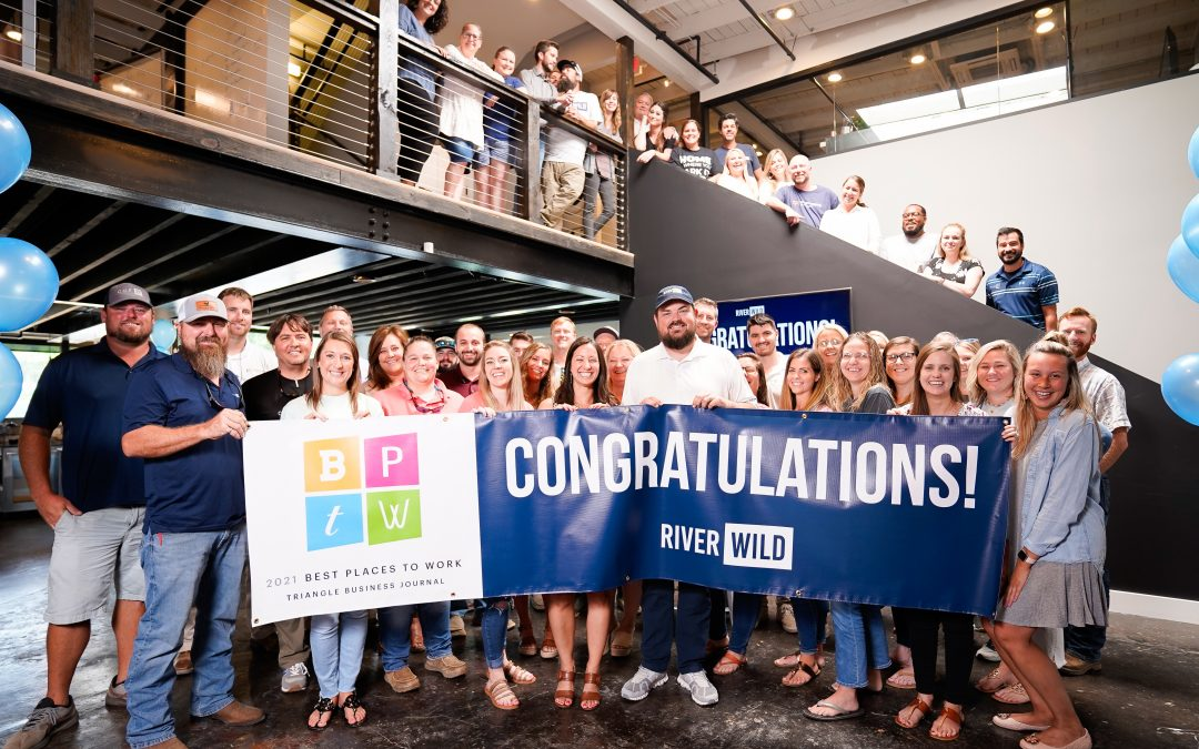 RiverWild Selected as a Best Place to Work